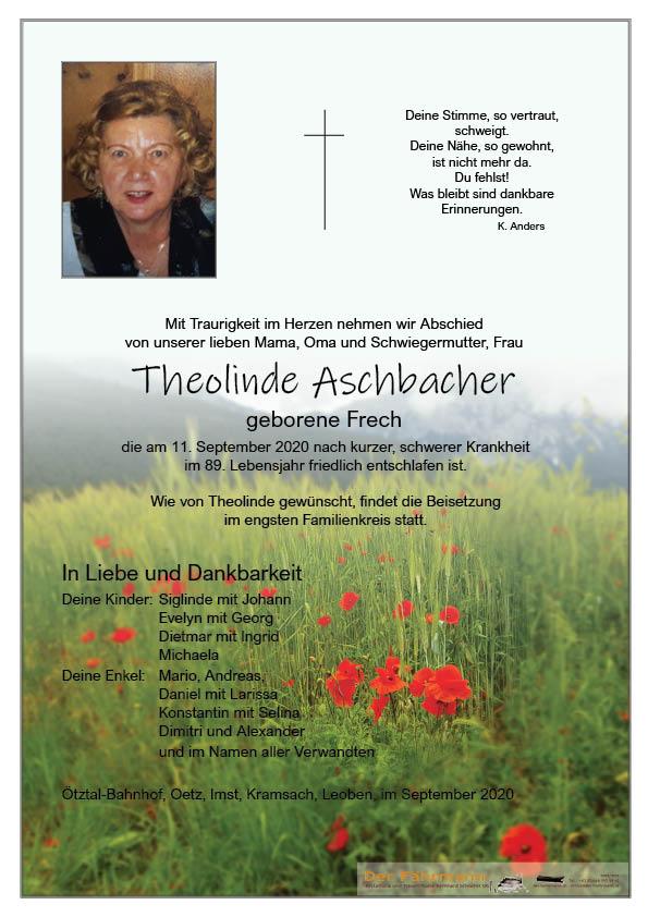 parte Theolinde Aschbacher