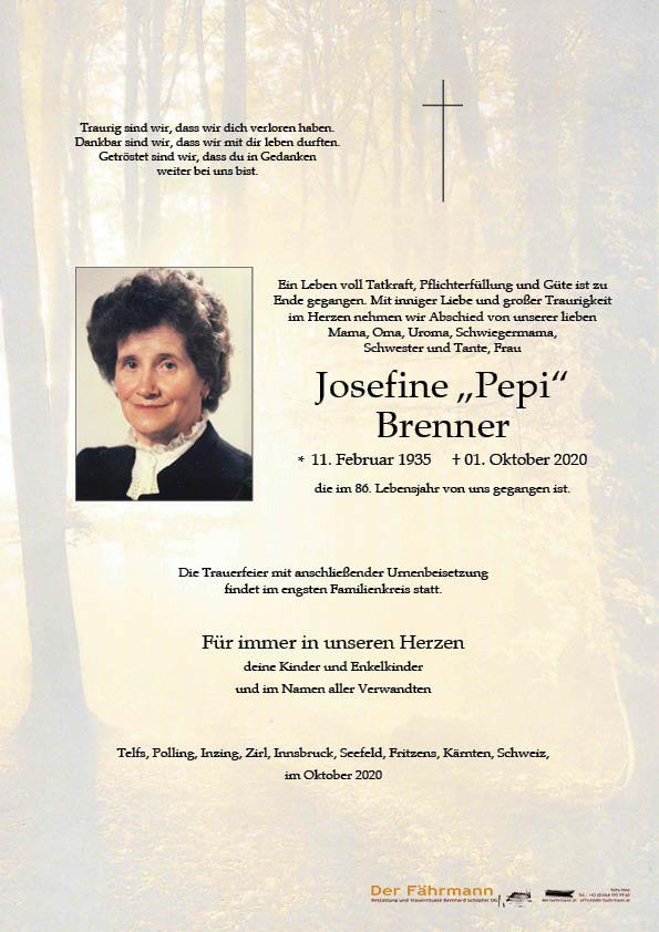 parte Josefine Brenner