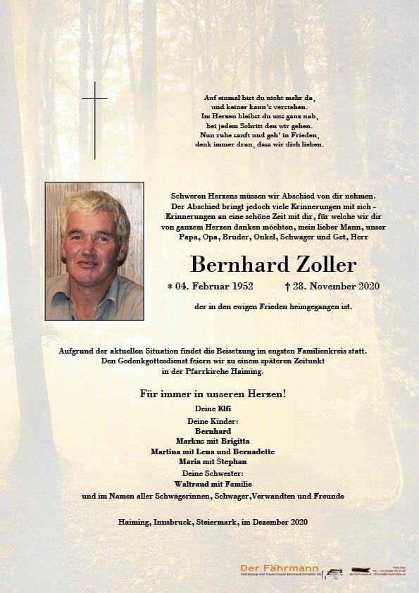 Parte Bernhard Zoller