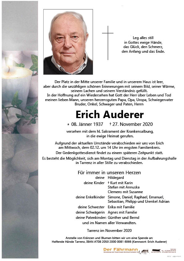 parte Erich Auderer