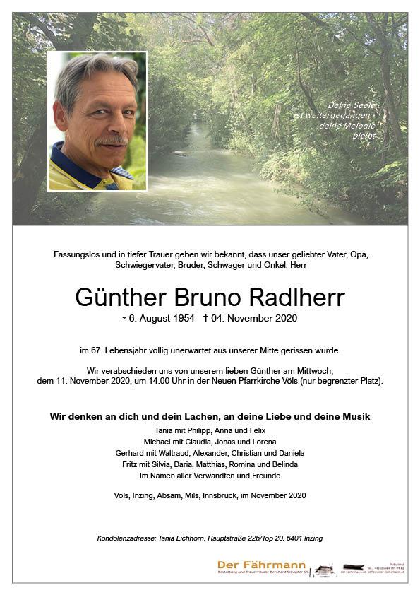 parte Günther Radlherr