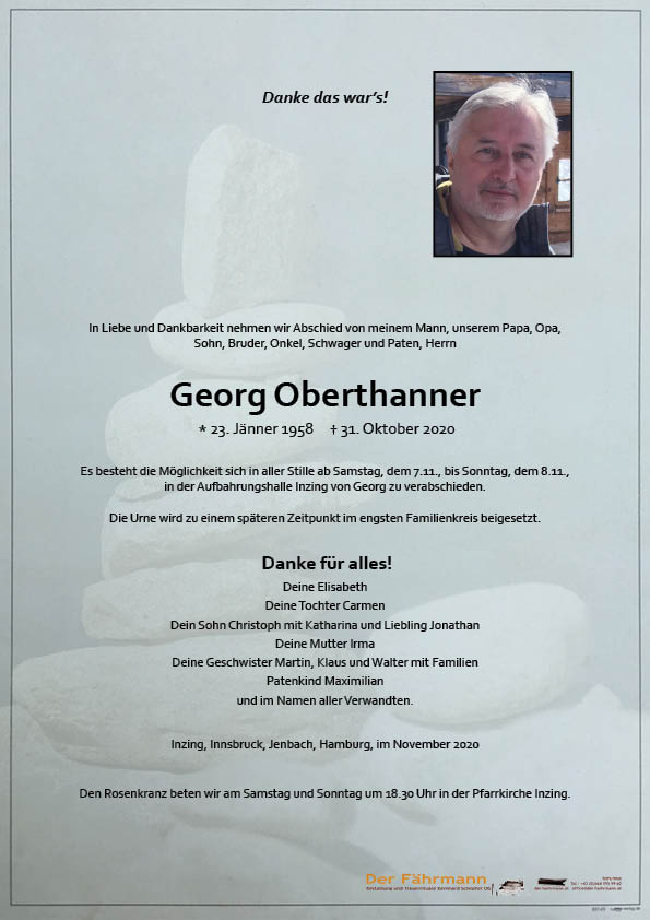 parte georg oberthanner