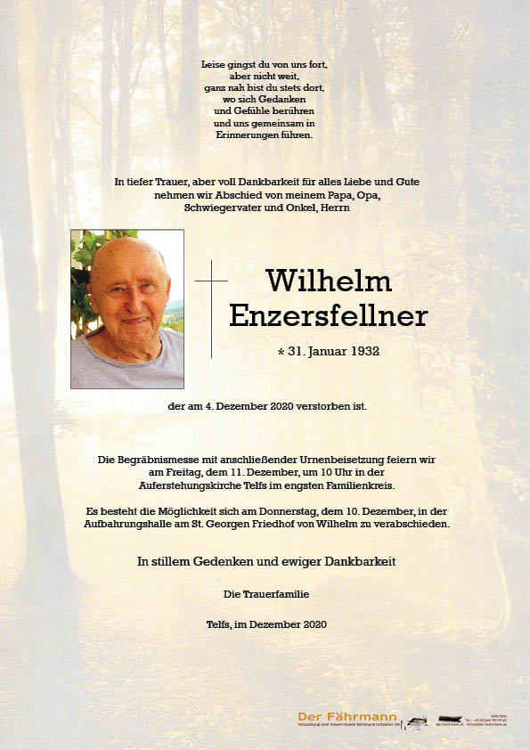 parte Wilhelm Enzersfellner