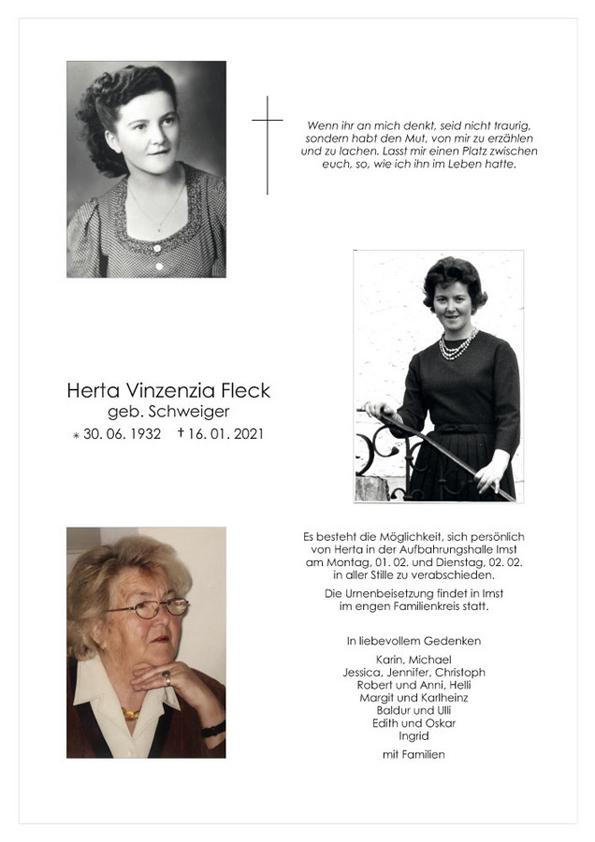 parte Herta Fleck