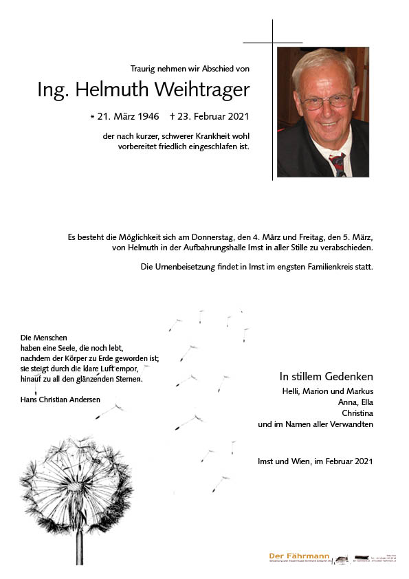 Parte Helmuth Weihtrager
