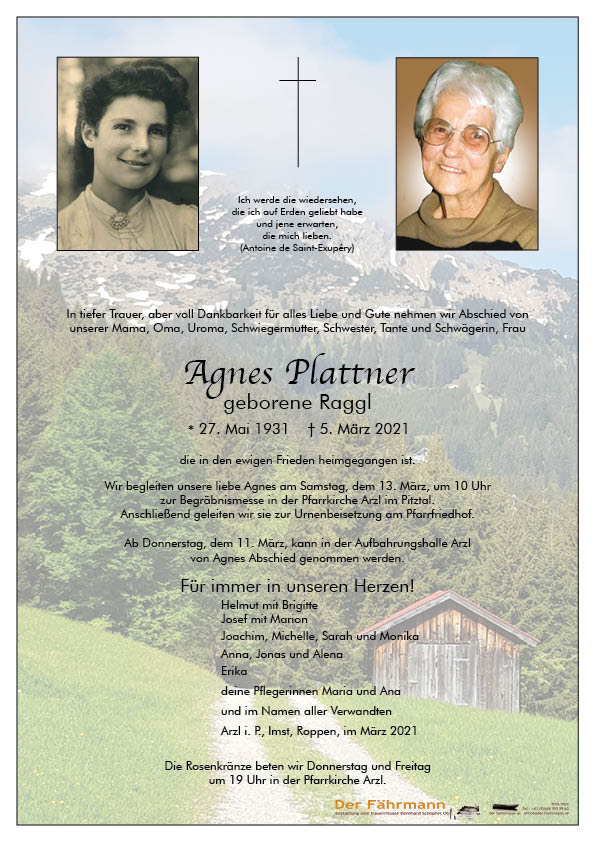 parte Agnes Plattner