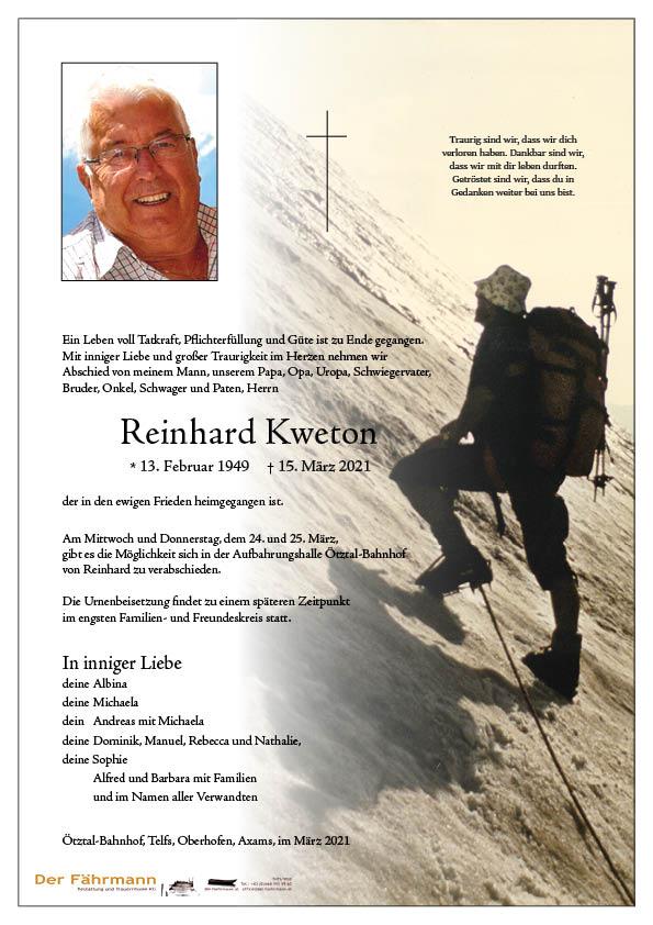 parte Reinhard Kweton
