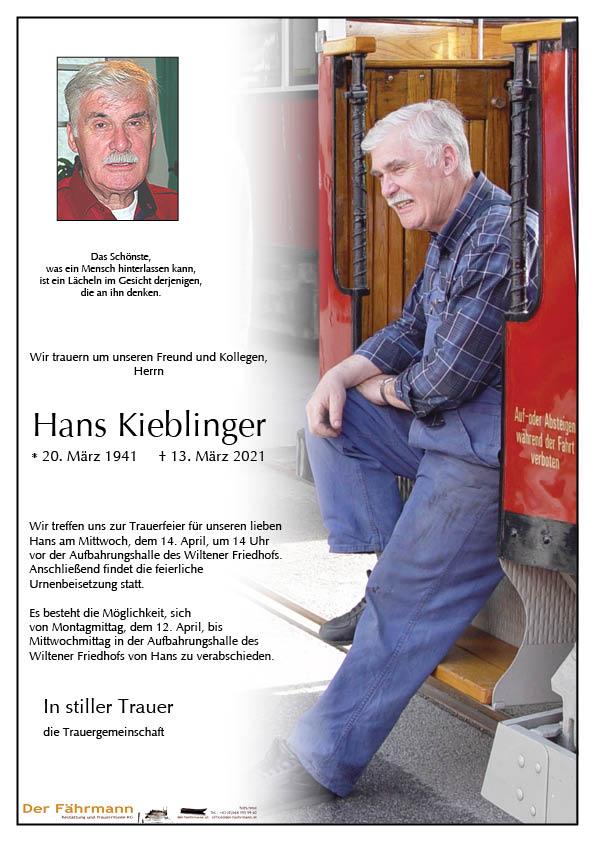 Parte Hans Kieblinger