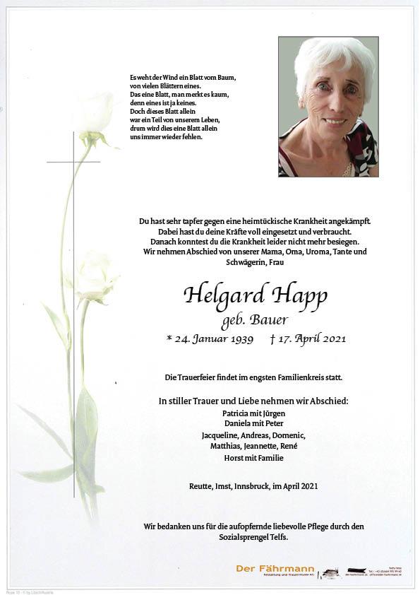 parte Helgard Happ