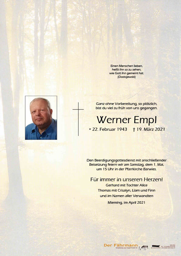 parte Werner Empl