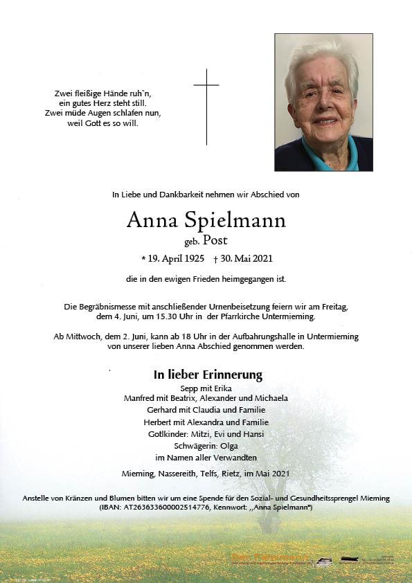 Anna Speilmann