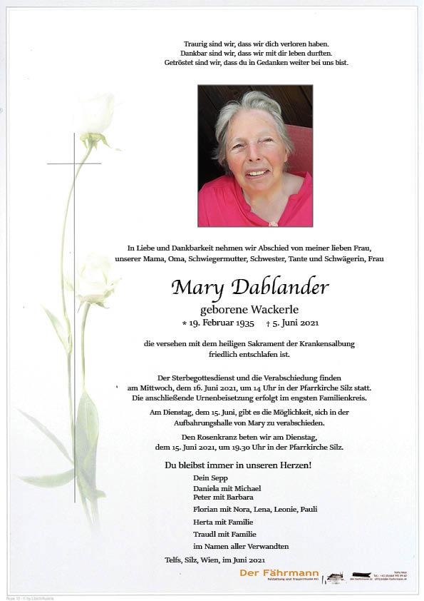 Parte Maria Dablander