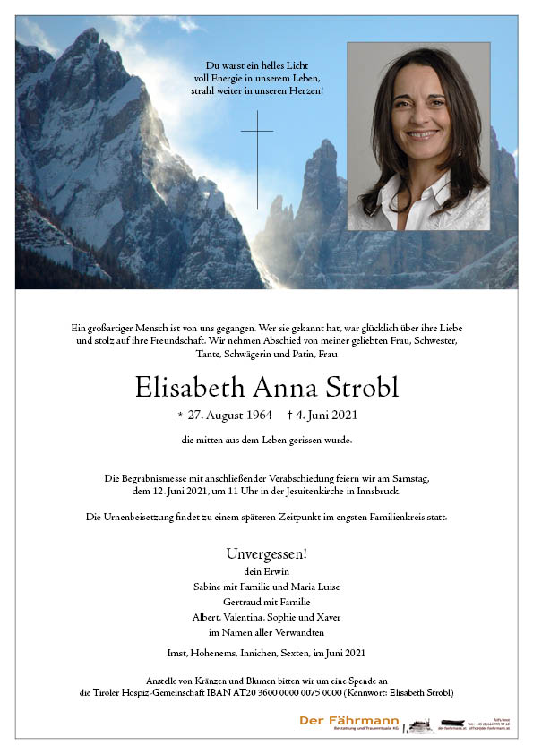 parte Elisabeth Anna Strobl