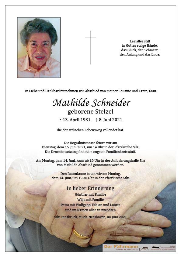 parte Mathilde Schneider