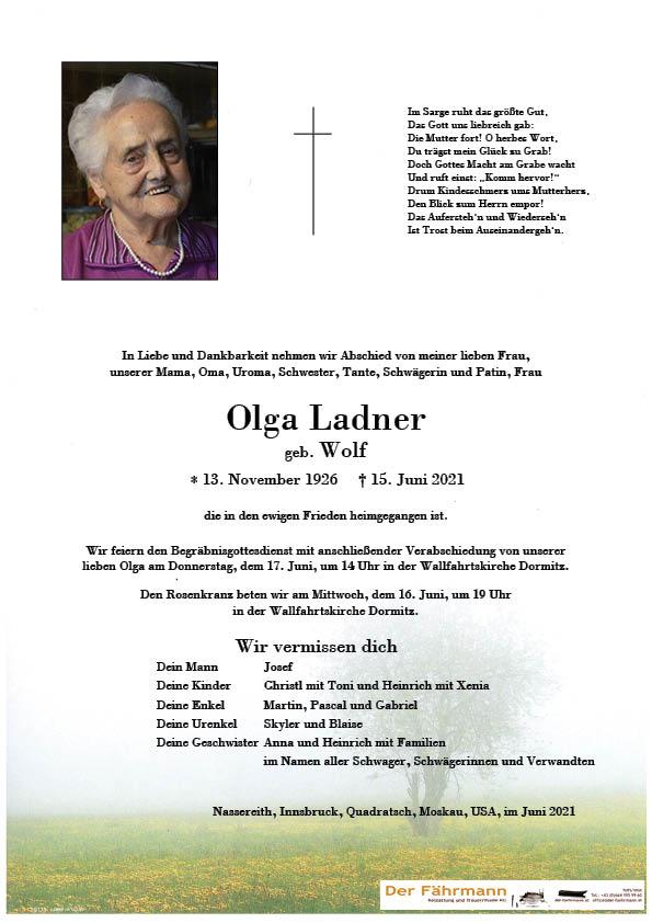 parte Olga Ladner