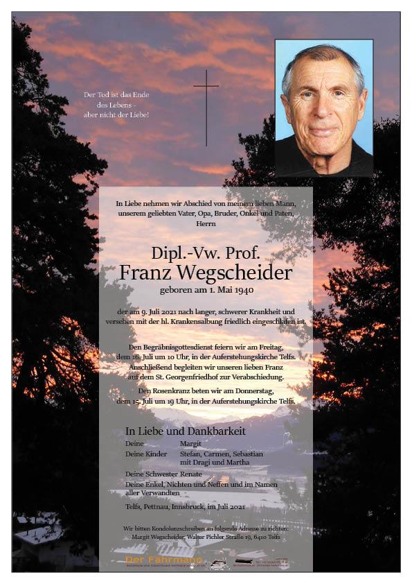 parte Franz Wegscheider