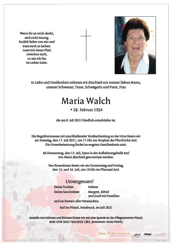 Maria Walch