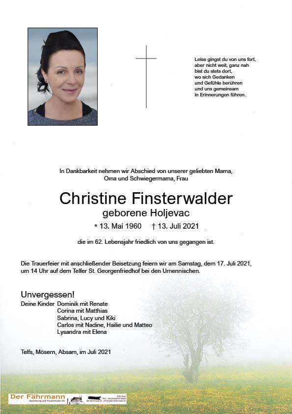 parte Christine Finsterwalder