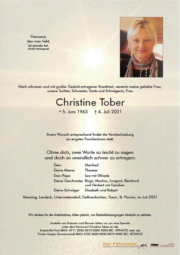 Christine Tober