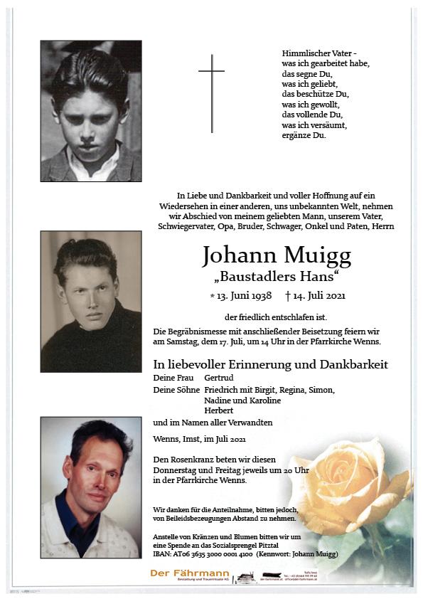 Johann Muigg
