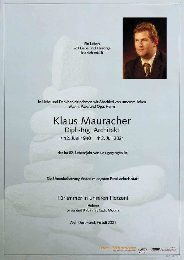 parte Klaus Mauracher