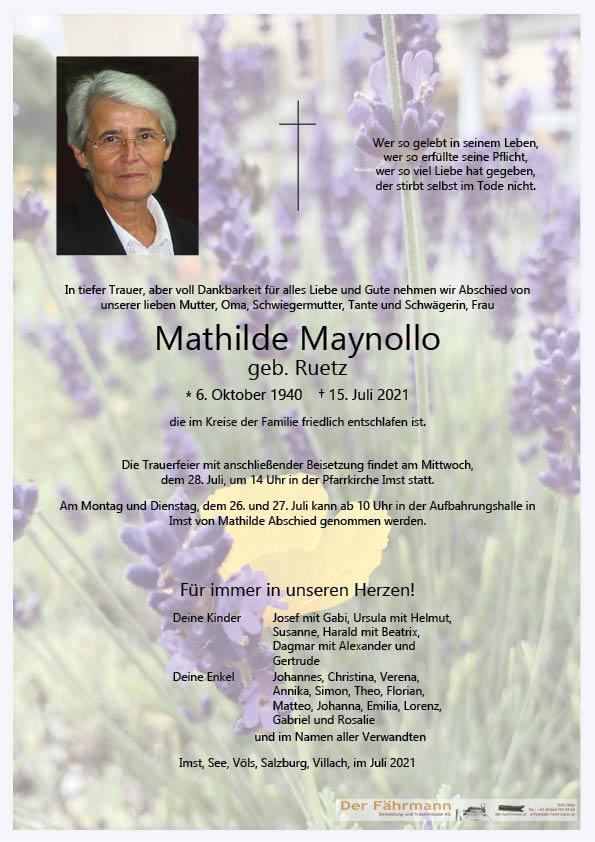 Mathilde Maynollo