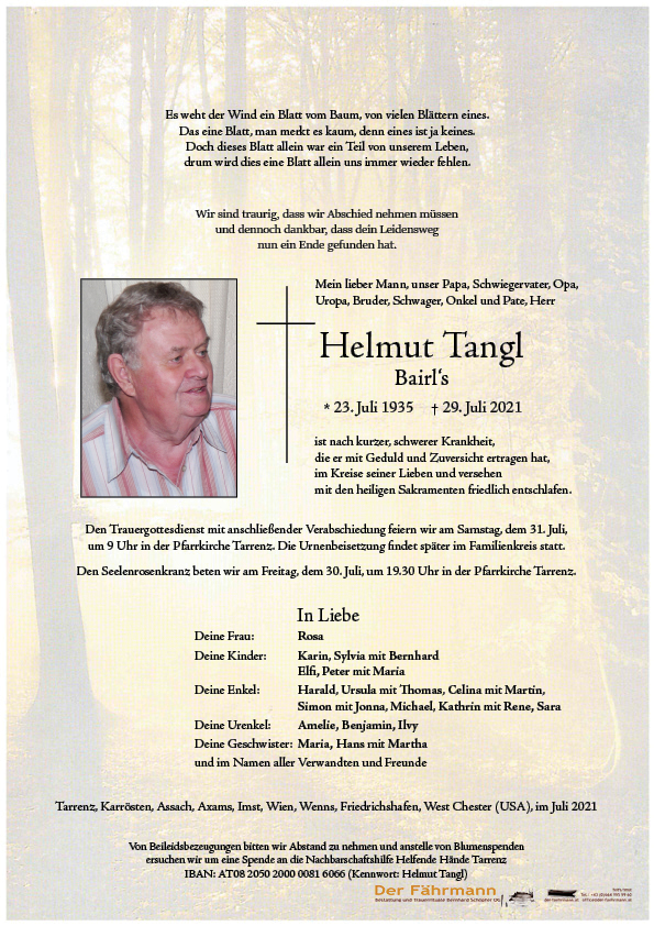 Tangl Helmut