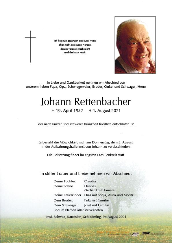 Parte Johann Rettenbacher