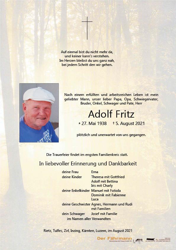 parte Adolf Fritz