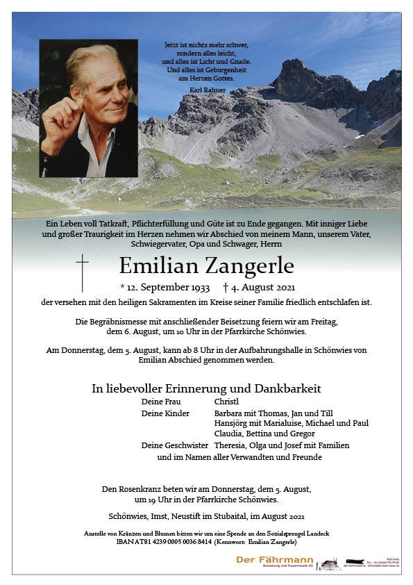Zangerle Emilian