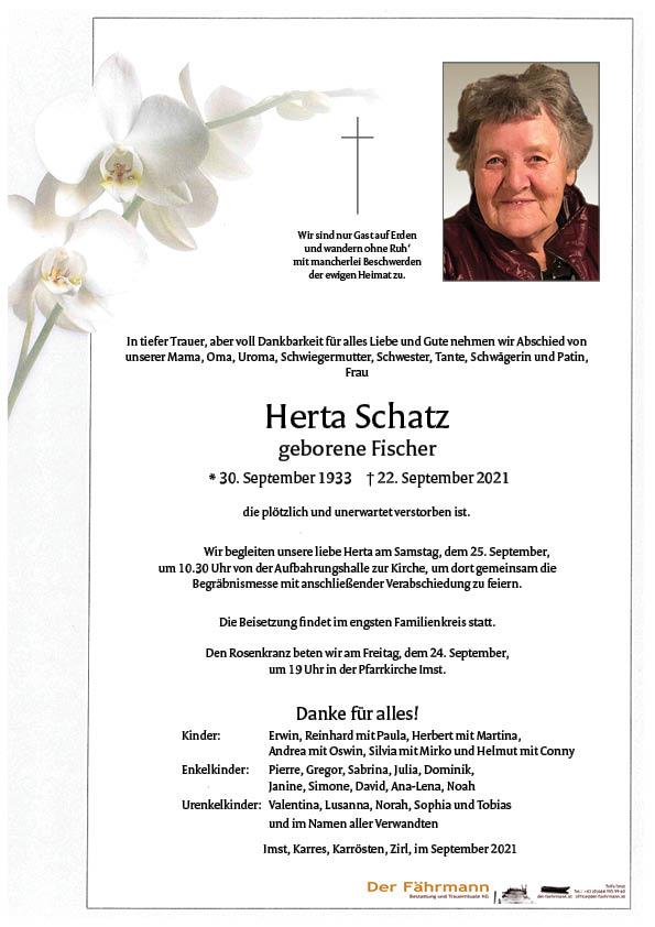 parte Herta Schatz