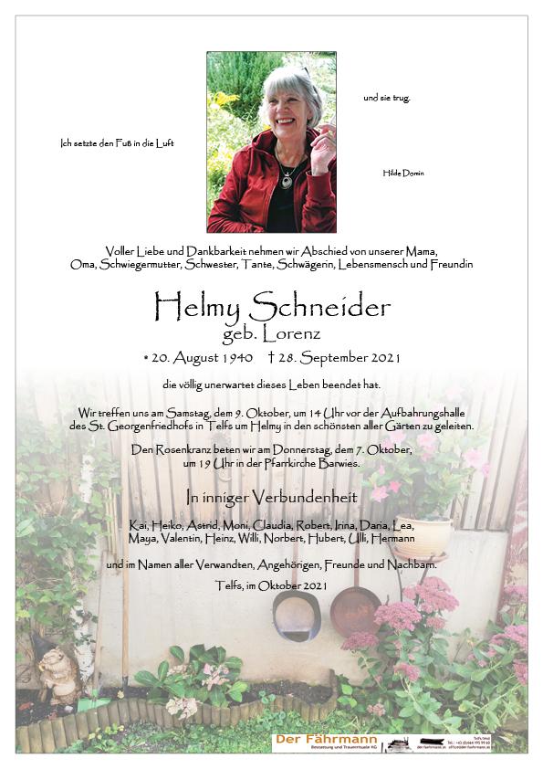parte Helmy Schneider